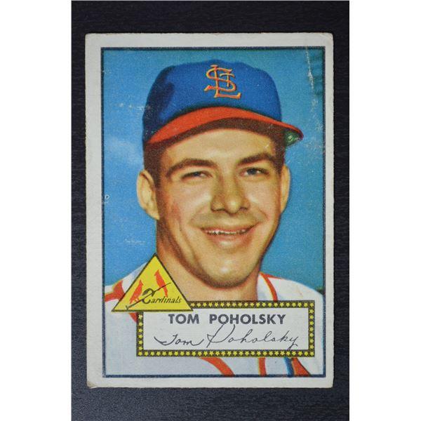 1952 Topps #242 Tom Poholsky ROOKIE