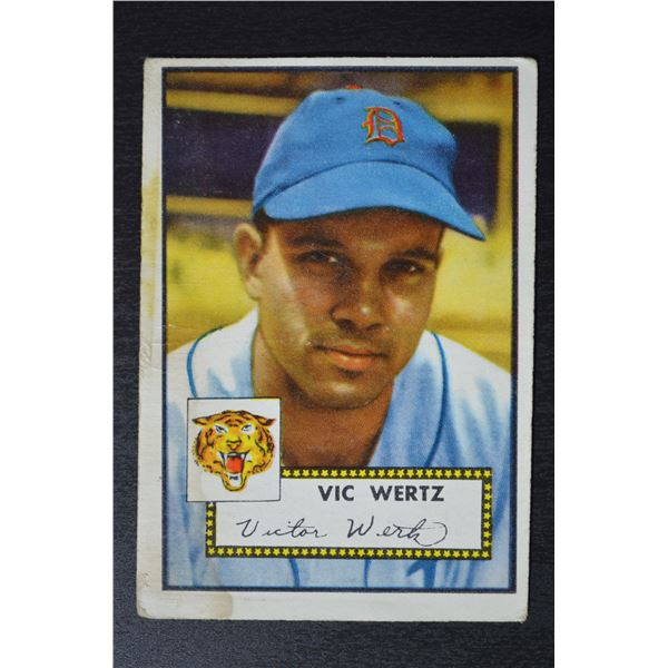 1952 Topps #244 Vic Wertz