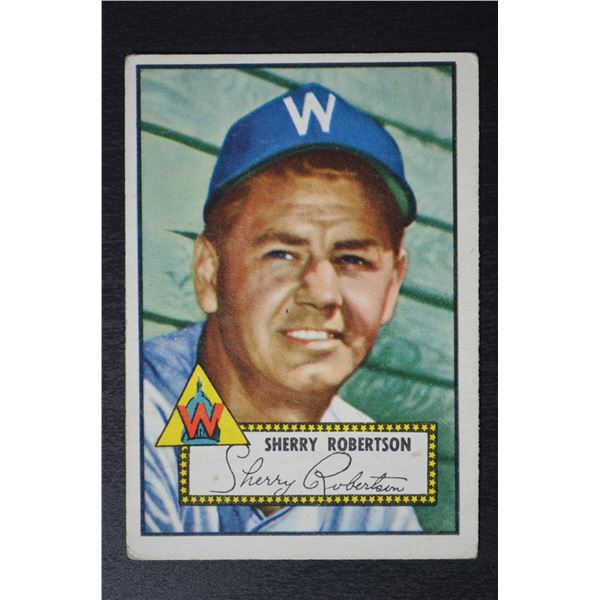 1952 Topps #245 Sherry Robertson