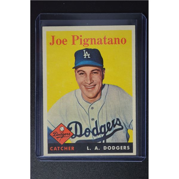 1958 Topps #373 Joe Pignatano RC