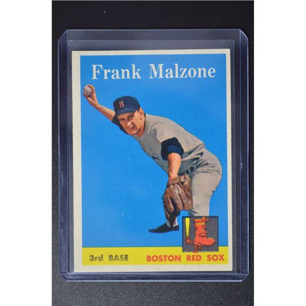 1958 Topps #260 Frank Malzone