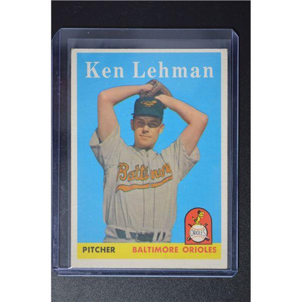 1958 Topps #141 Ken Lehman