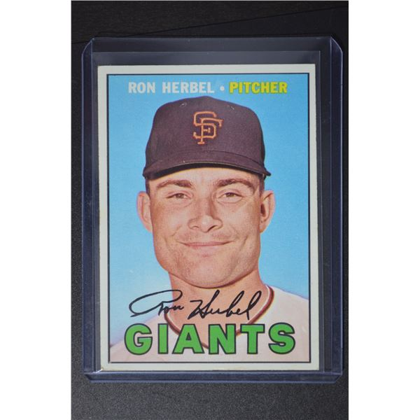 1967 Topps #156 Ron Herbel