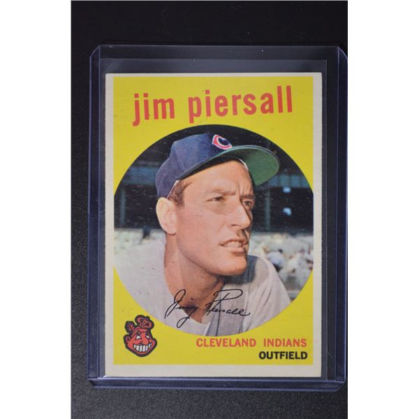 1959 Topps #355 Jimmy Piersall