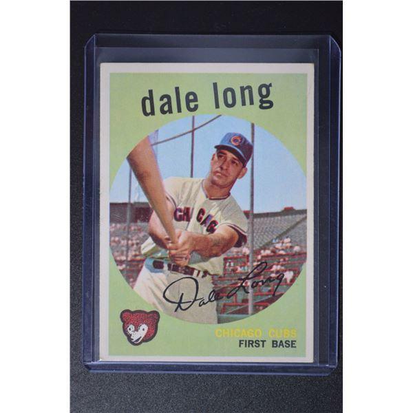 1959 Topps #414 Dale Long
