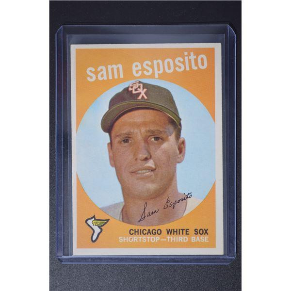 1959 Topps #438 Sammy Esposito