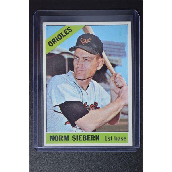 1966 Topps #14 Norm Siebern