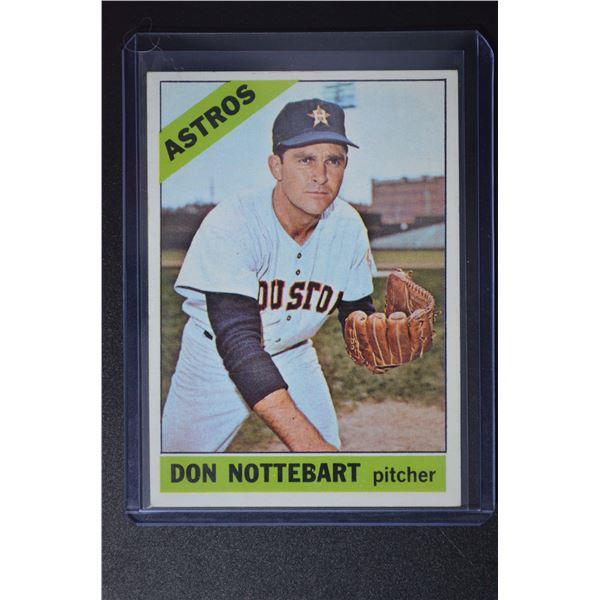 1966 Topps #21 Don Nottebart