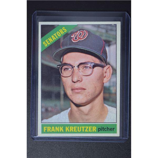 1966 Topps #211 Frank Kreutzer