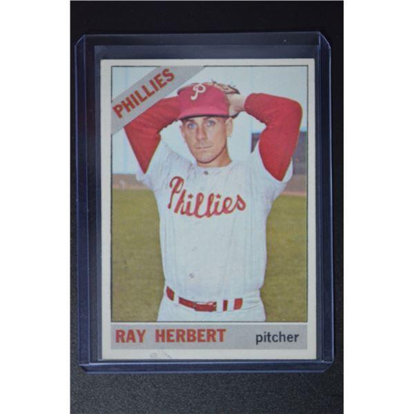 1966 Topps #121 Ray Herbert