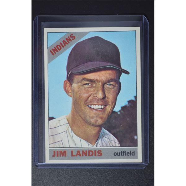 1966 Topps #128 Jim Landis