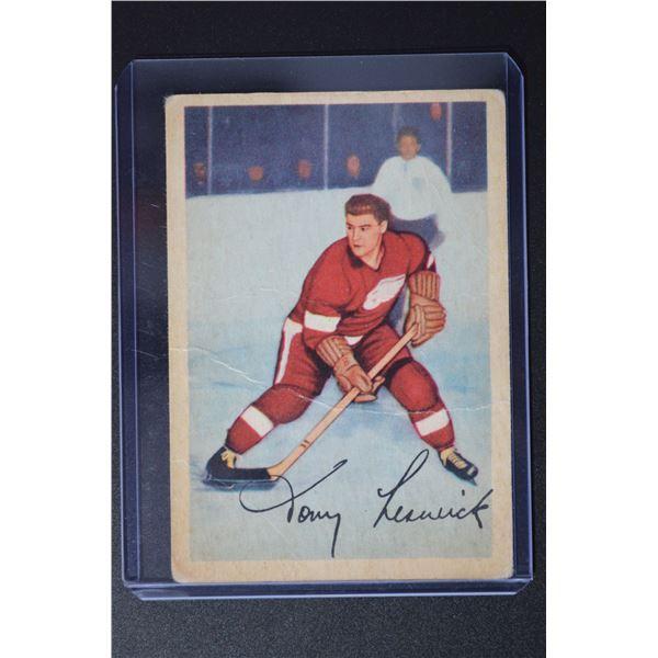 1953-54 Parkhurst #43 Tony Leswick