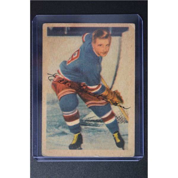 1953-54 Parkhurst #61 Ed Kullman
