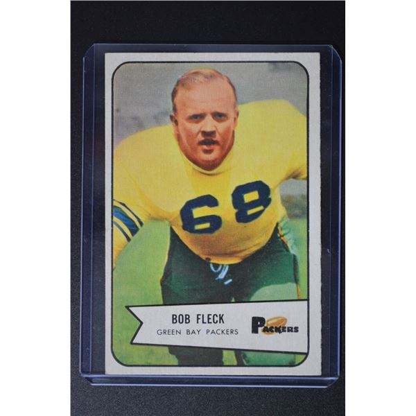 1954 Bowman #94 Bob Fleck SP RC