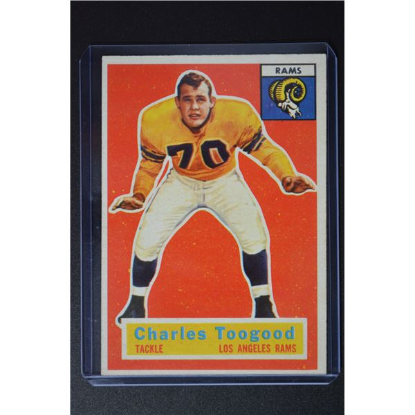 1956 Topps #54 Charley Toogood