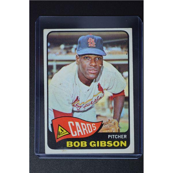 1965 Topps #320 Bob Gibson