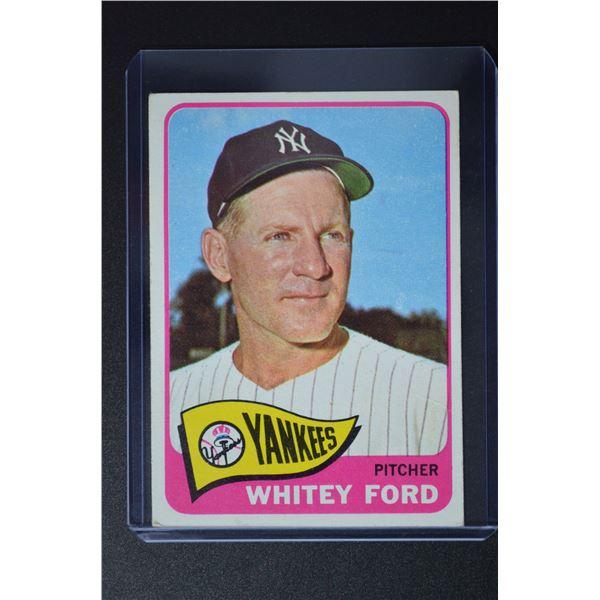 1965 Topps #330 Whitey Ford
