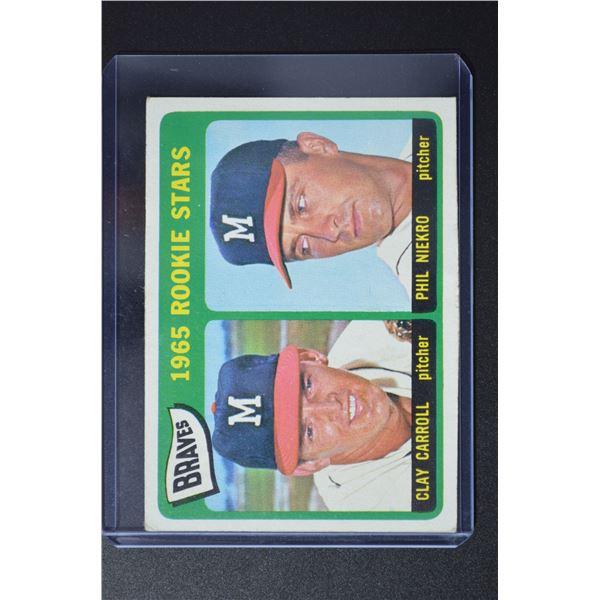1965 Topps #461 Rookie Stars/Clay Carroll RC/Phil Niekro