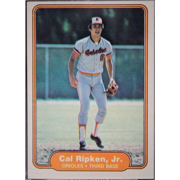 1982 Fleer #176 Cal Ripken RC