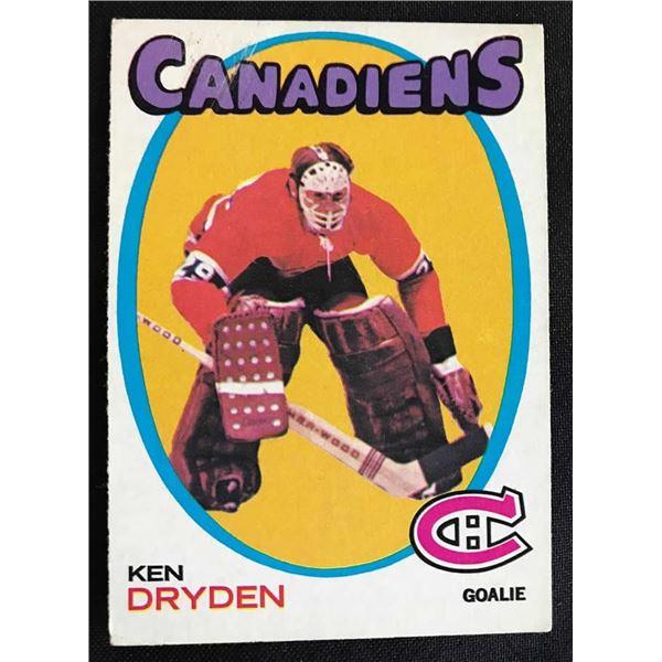 1971-72 Topps #45 Ken Dryden RC
