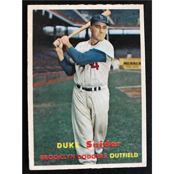 1957 Topps Duke Snider