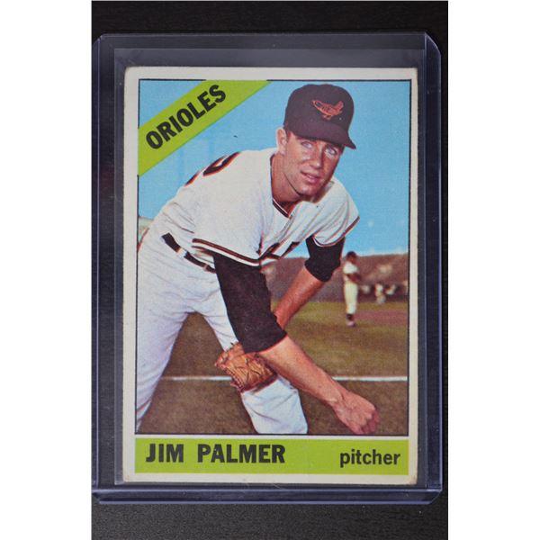 1966 Topps #126 Jim Palmer UER RC