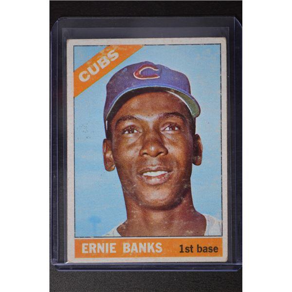 1966 Topps #110 Ernie Banks