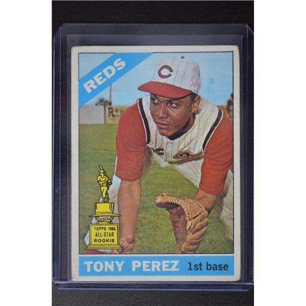 1966 Topps #72 Tony Perez