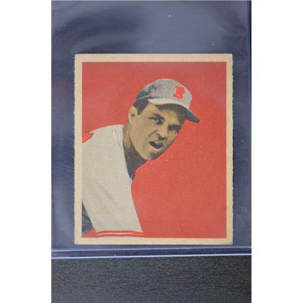 1949 Bowman #47 Johnny Sain