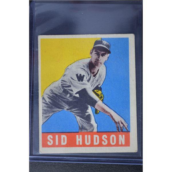 1949 Leaf #84 Sid Hudson