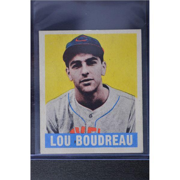 1949 Leaf #106 Lou Boudreau MG RC