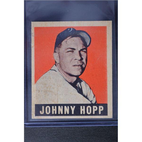 1949 Leaf #139 Johnny Hopp RC