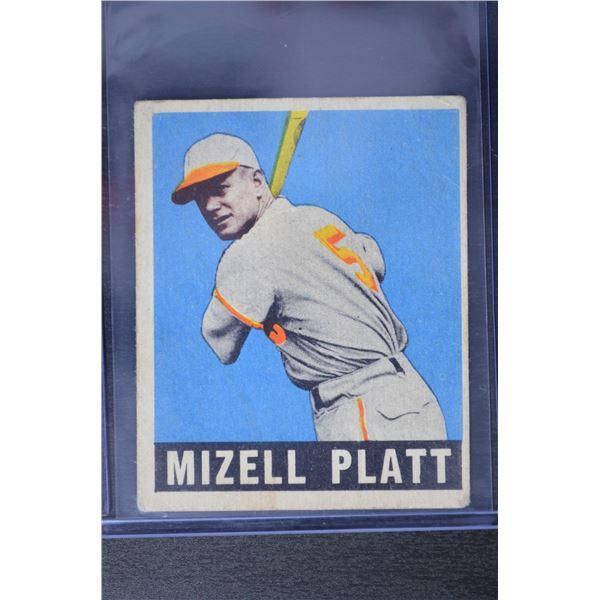 1949 Leaf #159 Mizell Platt RC