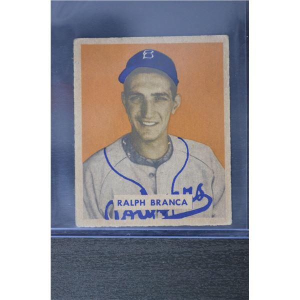 1949 Bowman #194 Ralph Branca RC