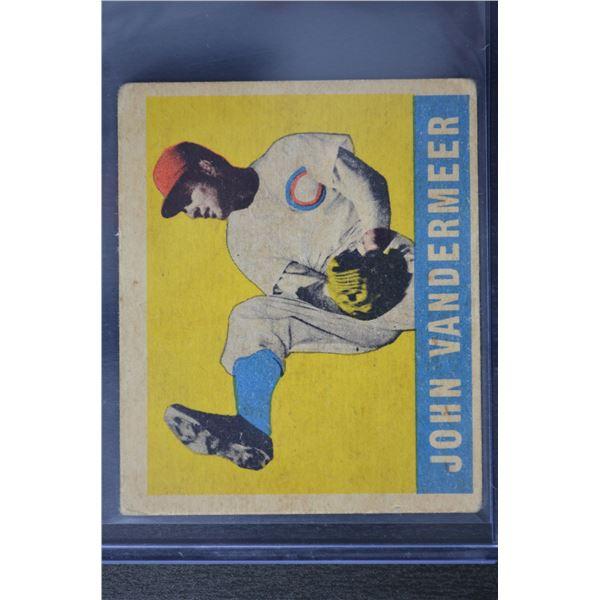 1949 Leaf #53 Johnny VanderMeer