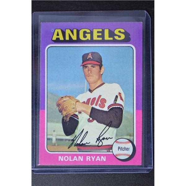 1975 Topps #500 Nolan Ryan