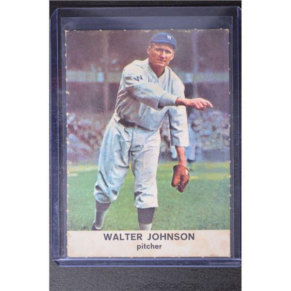 1961 Golden Press #29 Walter Johnson