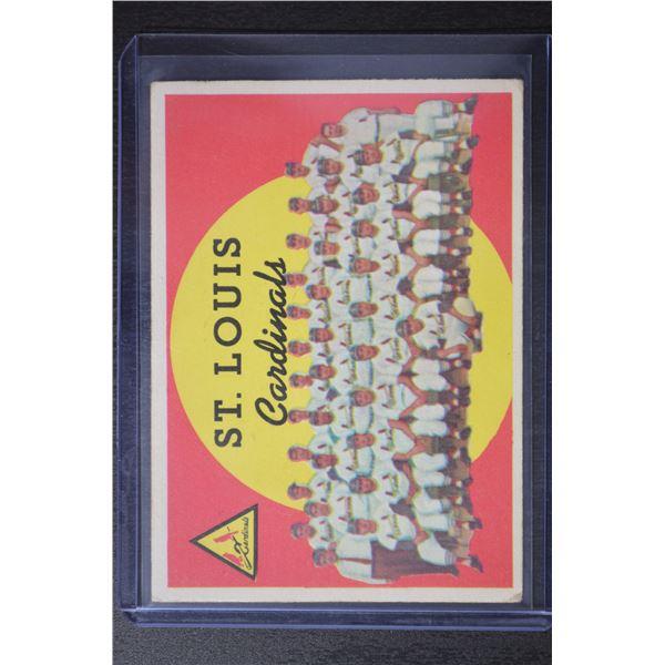 1959 Topps #223 St. Louis Cardinals CL