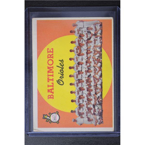 1959 Topps #48 Baltimore Orioles CL