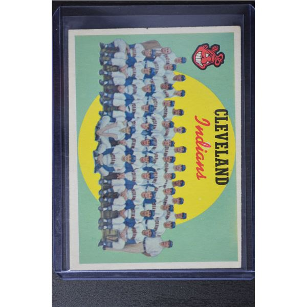 1959 Topps #476 Cleveland Indians CL