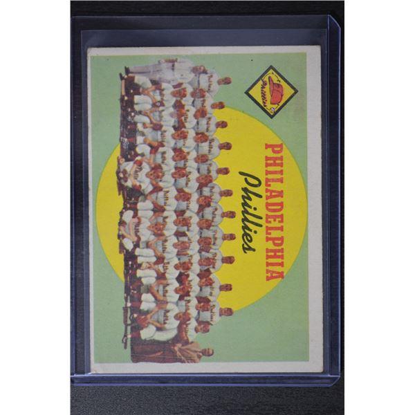 1959 Topps #8 Philadelphia Phillies CL