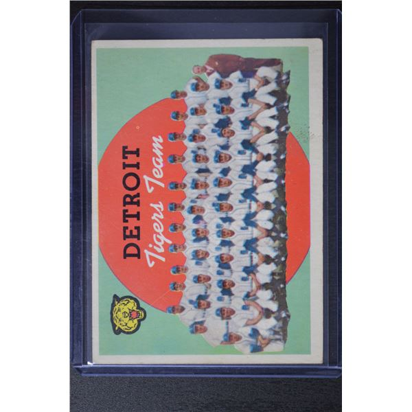 1959 Topps #329 Detroit Tigers CL