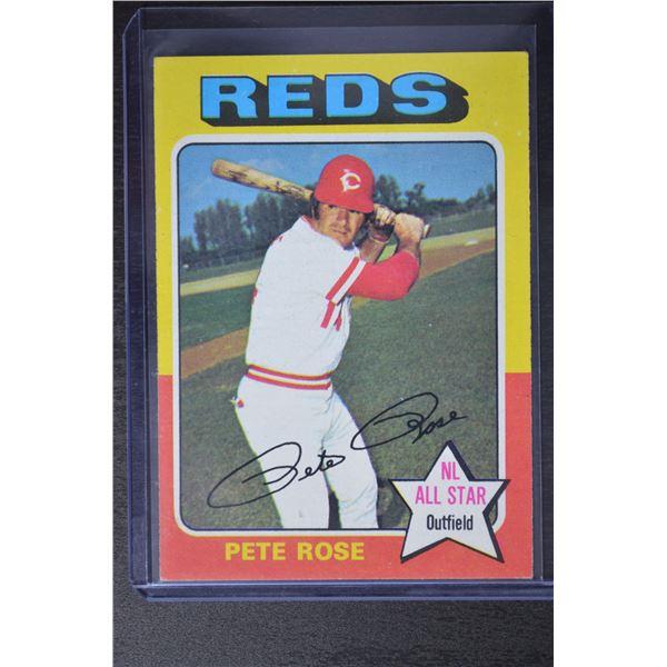 1975 Topps #320 Pete Rose