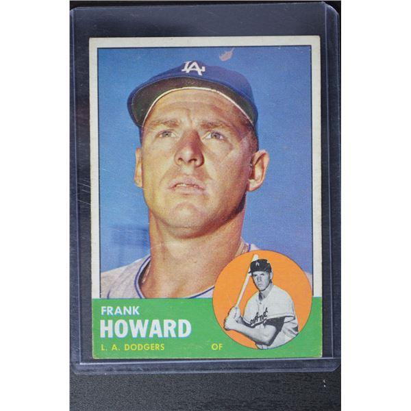 1963 Topps #123 Frank Howard