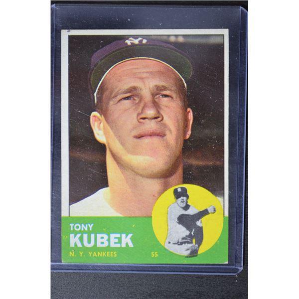 1963 Topps #20 Tony Kubek
