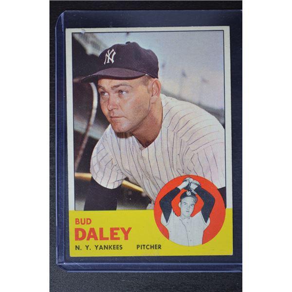 1963 Topps #38 Bud Daley