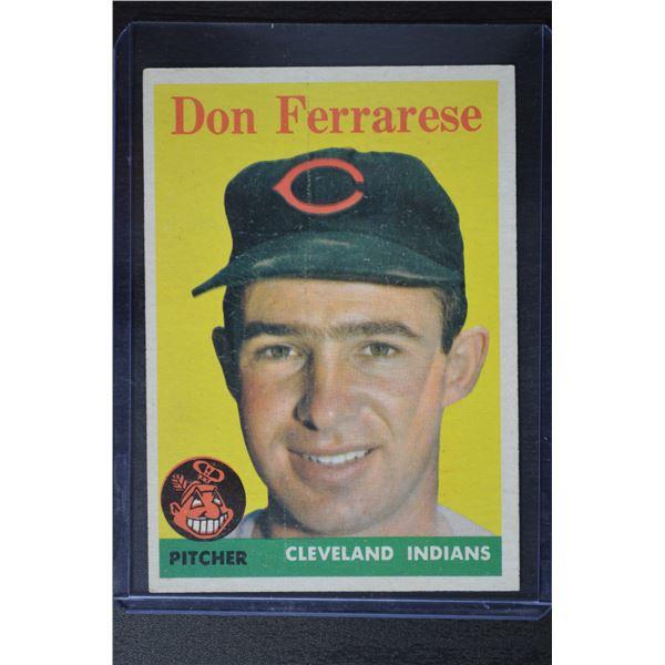 1958 Topps #469 Don Ferrarese