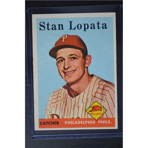 1958 Topps #353 Stan Lopata