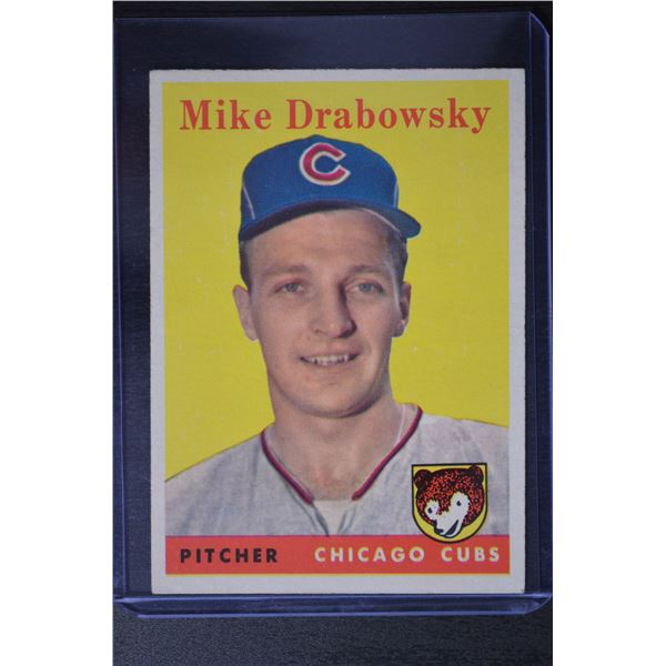 1958 Topps #135 Mike MoeDrabowsky