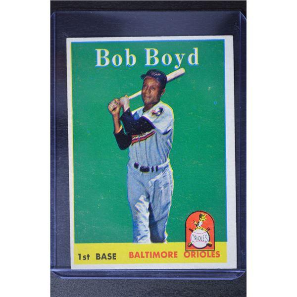 1958 Topps #279 Bob Boyd